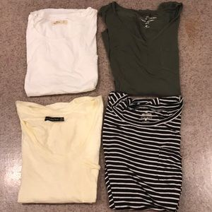 Hollister/A&F Pocket T-shirts, 3 for $15,4 for $18